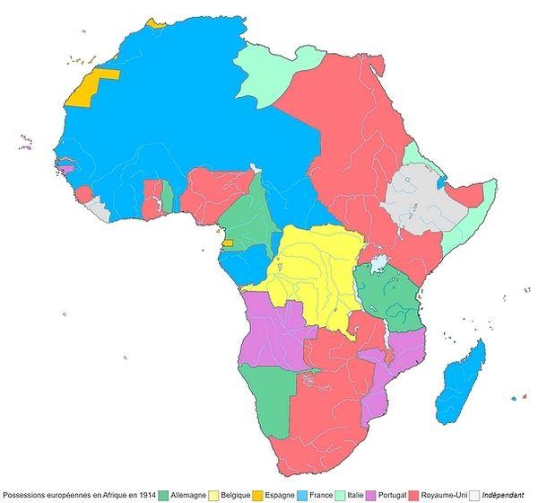 Colonies européennes en Afrique