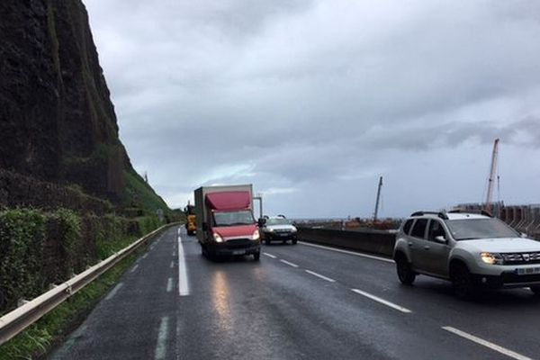 Embouteillage route du littoral
