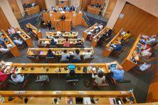 Les élus de la CTM en plénière le 2 octobre 2020.