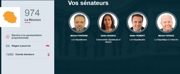 Senatoriales La Réunion