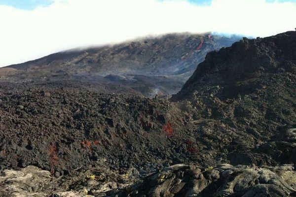 Piton de la Fournaise : éruption