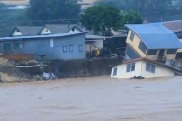 Innondations Iles Salomon