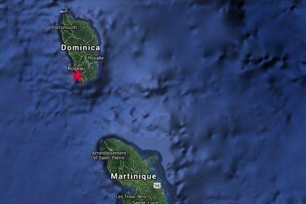 Dominique: le séisme du 3 nov 2015