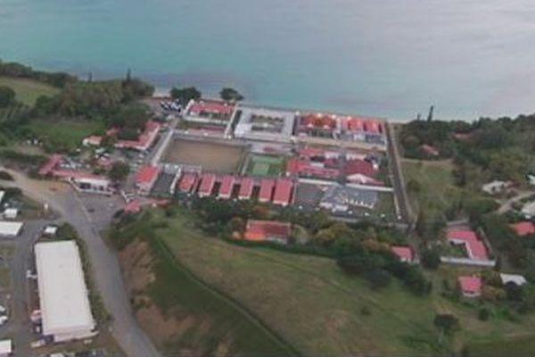 Camp Est : vue aérienne