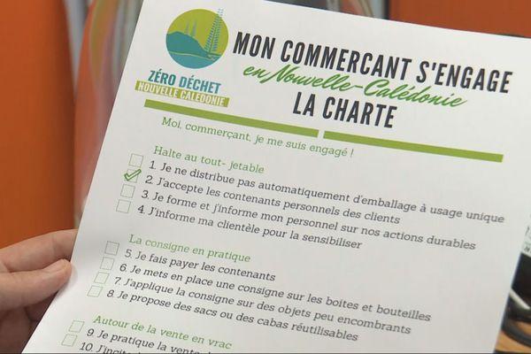 Charte association Zéro déchet