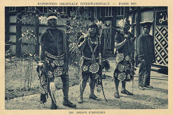 Kanaks exposition coloniale