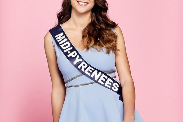 Axelle Breil, 20 ans, Miss Midi-Pyrénées