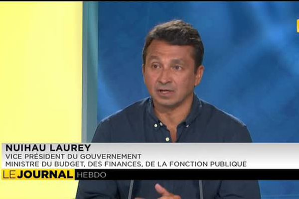 L'invité du journal : Nuihau Laurey,