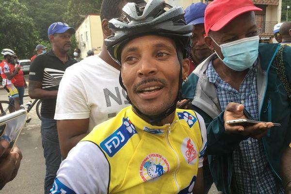 Boris Carène, vainqueur de la Route de la Martinique 2020
