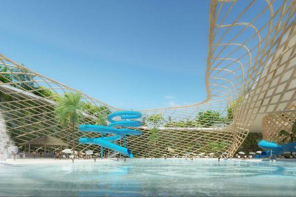 Projet français du Tahiti Mahana Beach : les premières images