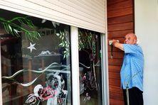 Hubert Amat, restaurateur à Cayenne, préfère appliquer le pass sanitaire que de garder le rideau baissé.