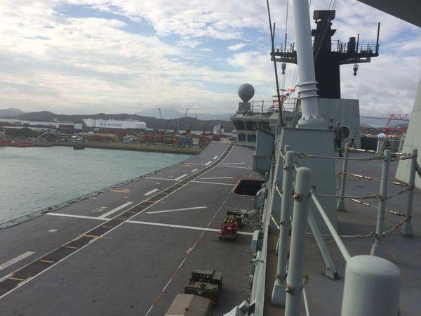 HMAS Canberra Marine australienne