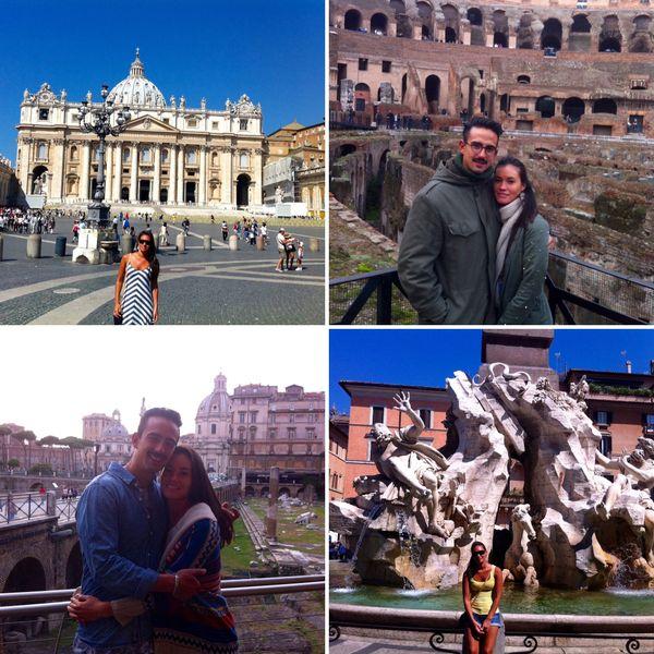 La Calédonienne profite de la Dolce Vita à l'italienne avec Gabriele