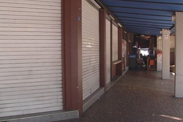 Commerces fermés à Papeete