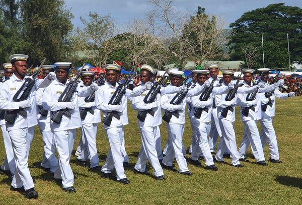 40 ans de l'indépendance au Vanuatu, Port-Vila, 30 juillet 2020