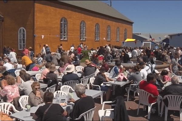 14 juillet 2017 à Miquelon