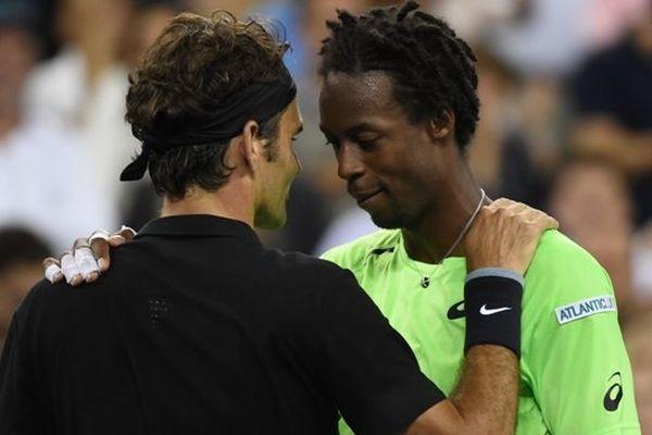 Monfils et Federer