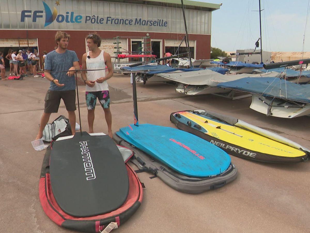 Windsurf Les Freres Goyard En Preparation A Marseille Nouvelle Caledoni