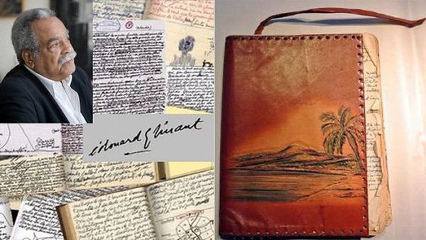 glissant manuscrits