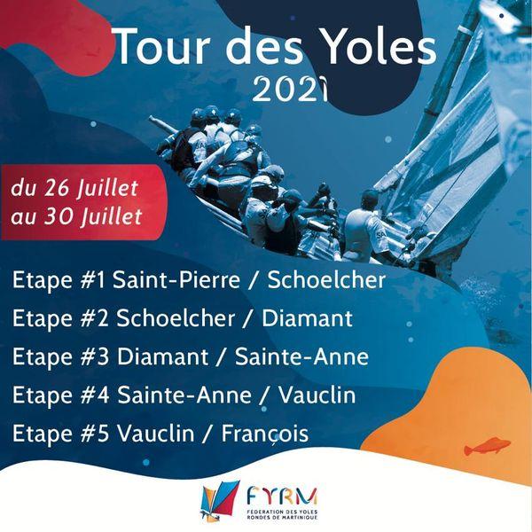 Tour yoles rondes 2021