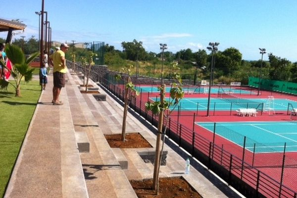 Terrains de tennis à Moulin-Joli