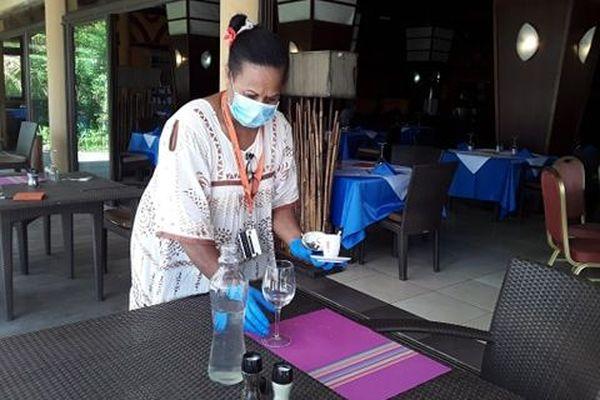 Restaurant hôtel Tiéti Poindimié coronavirus