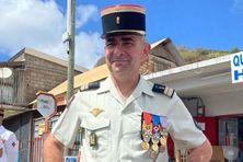 Le lieutenant colonel Girard a pris la tête du Détachement de Légion étrangère de Mayotte