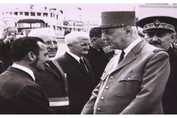 Charles de gaulle: le président de la république en visite à Saint-Pierre et Miquelon, c'était en 1967