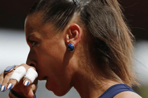 Cindy Billaud, éliminée dès les séries du 100m haies aux championnats du monde à Pékin.