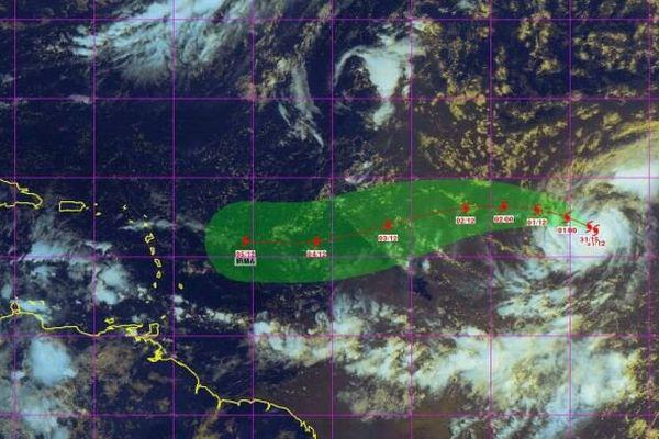 Trajectoire Irma
