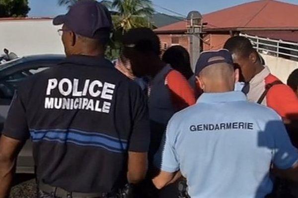 Opération de lutte contre la délinquance en Martinique