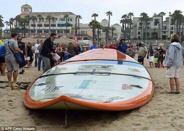 planche de surf record du monde
