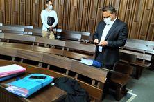 Didier Robert comparaît devant le tribunal correctionnel de Saint-Denis.