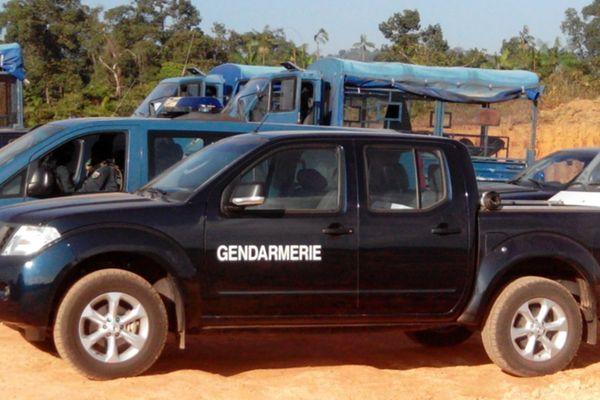 Les gendarmes à la zone Terca