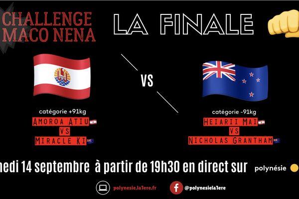 Challenge Maco Nena : la finale en live