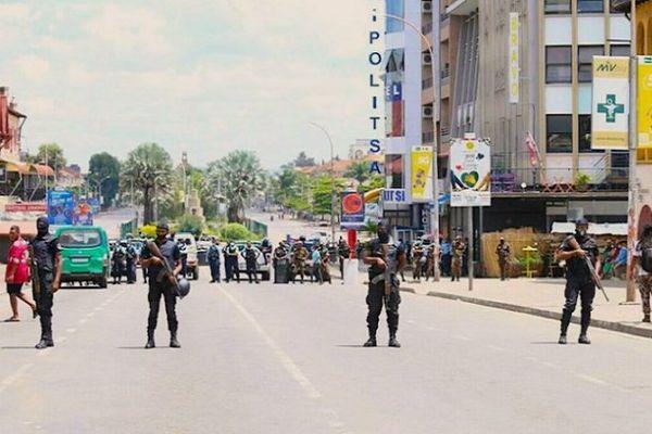 Manifestation interdite à Madagascar