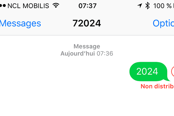 SMS 72024 JO Paris 2024