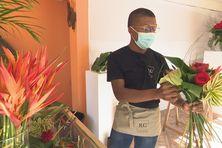 Rubens Gromat, 25 ans en pleine création floral.