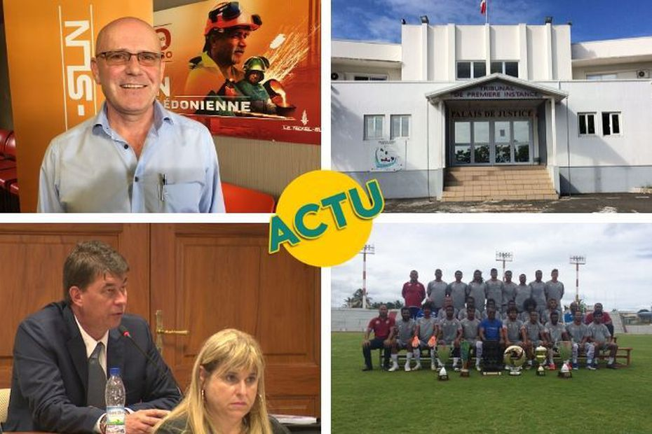 SLN, justice, Europe, football : l'actu à la 1 du samedi 22 février 2020 - Nouvelle-Calédonie la 1ère