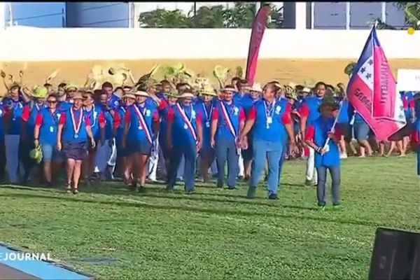 Ouverture des Jeux de Polynésie