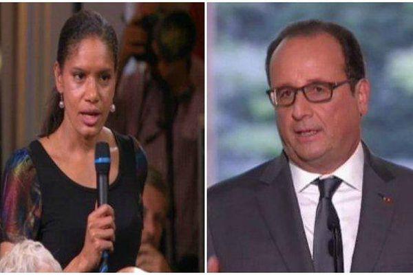 Lors de sa conférence de presse,François Hollande évoque l'égalité réelle