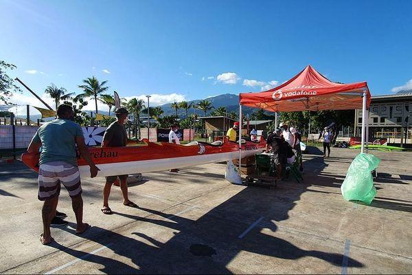 Vodafone Channel Race Tahiti