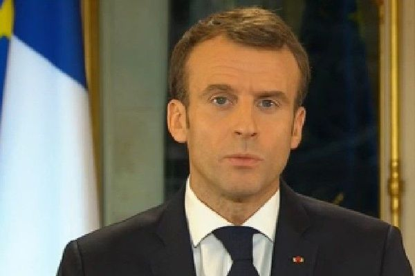 Emmanuel Macron 10 décembre