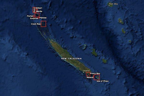 Carte étude Global Reef expedition