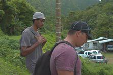 Hier, des bénévoles dont Jérémy le grand frère de Tamatoa ont sillonné les vallées de Papara. Aujourd'hui, les côte Est et la presqu'île sont passées à la loupe.
