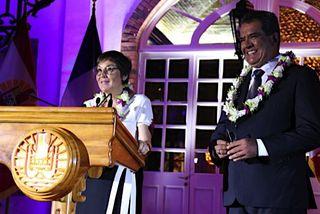 Annick Girardin à la Présidence de la Polynésie
