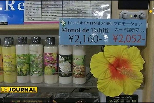 Quand les produits polynésiens séduisent les Japonais…