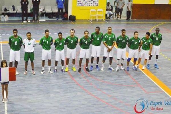 Equipe de guyane de volley