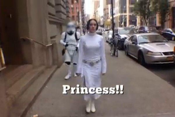 Parodie Princesse Leia