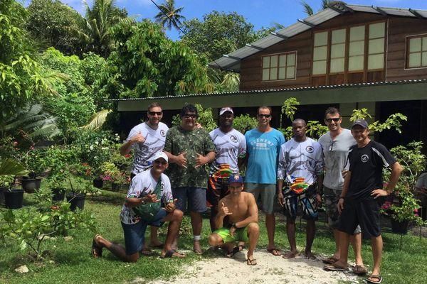 Team Guyane Hawaiki nui 2016